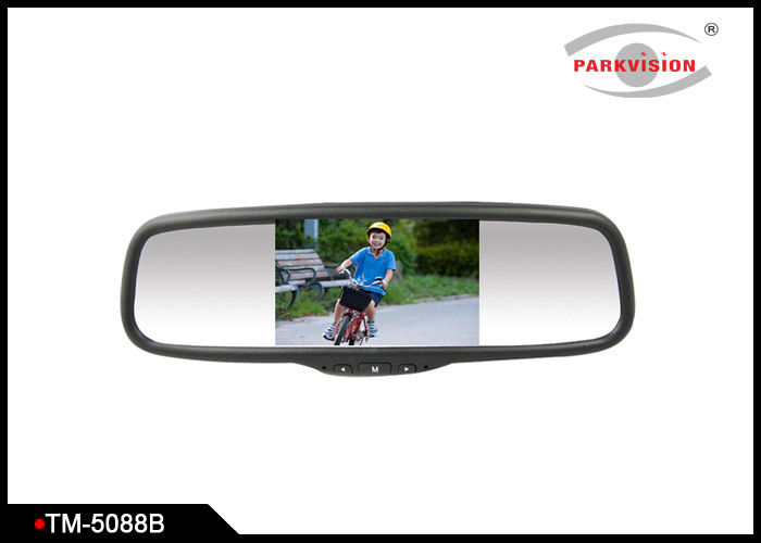 Bluetooth - Enabled Car Rearview Mirror Monitor With 5 - Inch Wide Screen