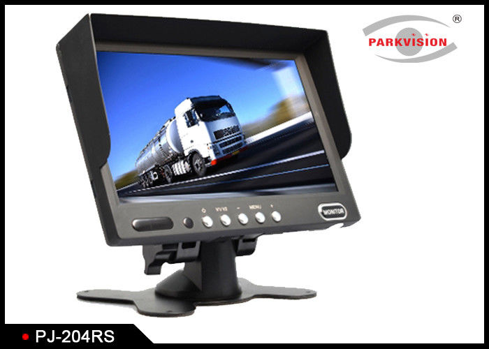 Black Bus Monitoring System 16:9 Screen Type With Remote Control And OSD Menu